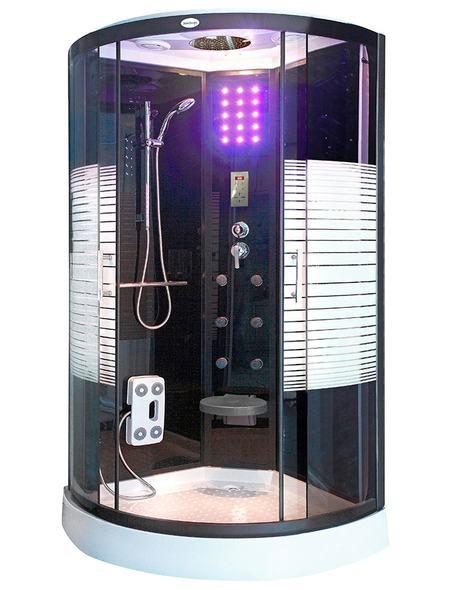 Erleben Sie Ein Sinnliches Duschvergnügen über Die Große Tropenbrause Mit  4 Facher Wasserverteilung, Die Blaue, Energiesparende LED Beleuchtung Sorgt  Für ...